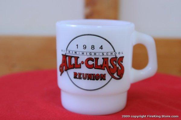 画像1: Fire-King スタッキングマグALL CLASS REUNION1984 (1)